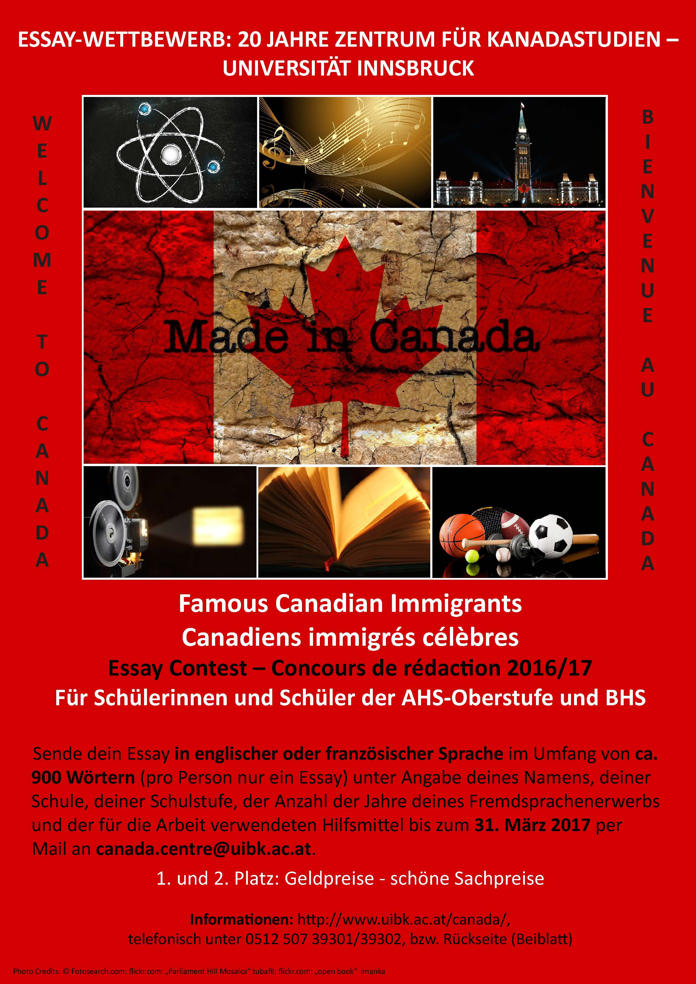 Education in canada essay contest
