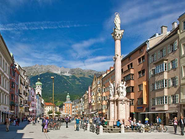 Innsbruck City View of Innsbruck towards