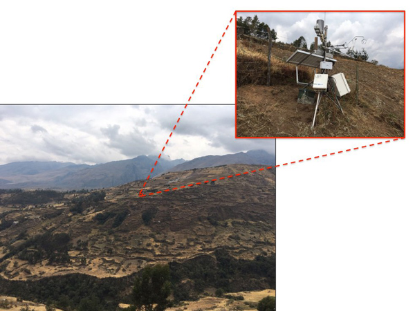 Llupa flux tower (Huaraz, Peru)