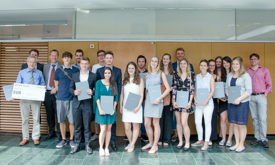 Gruppenfoto Student of the Year 2017