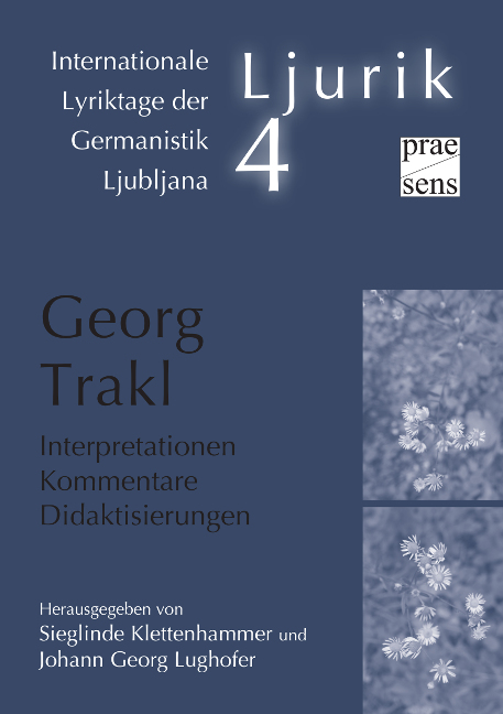 Cover Georg Trakl