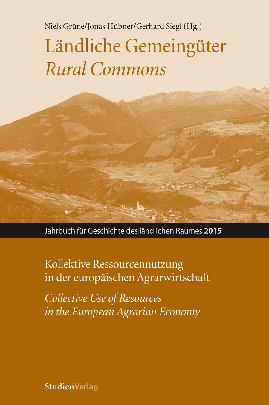 Cover Ländliche Gemeingüter