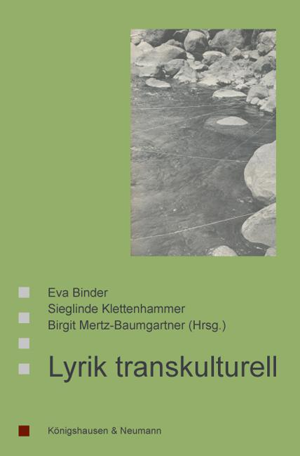 Cover Lyrik transkulturell