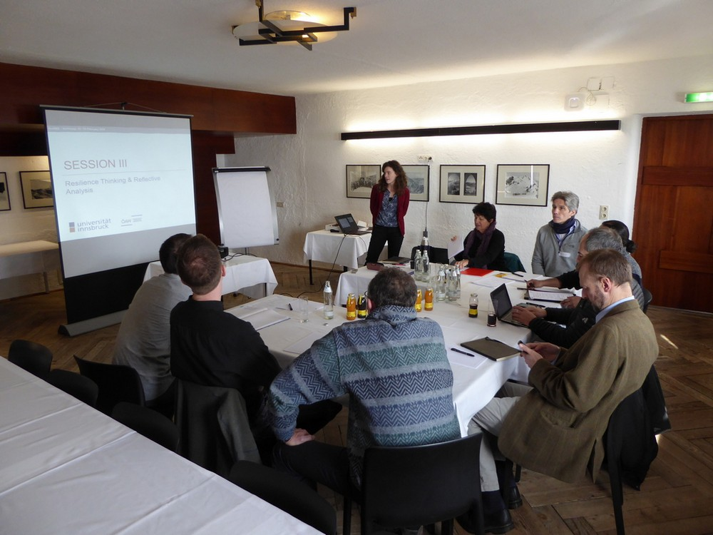 Expert Meeting, Innsbruck, February 2018