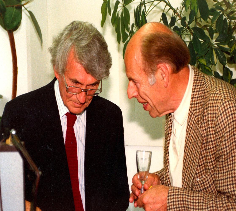 Zoran Konstantinovic und Alfred Doppler