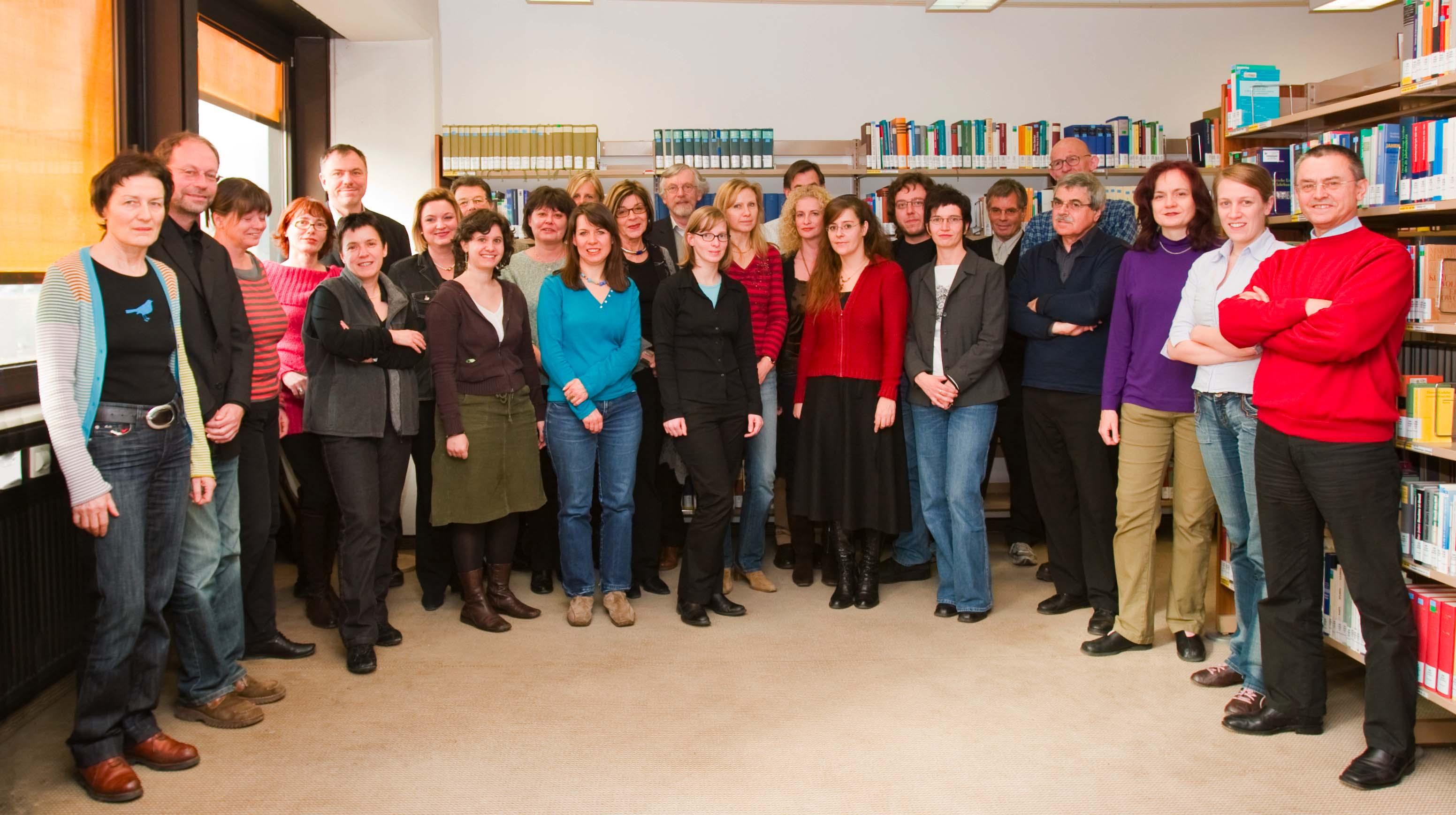 Die MitarbeiterInnen 2009