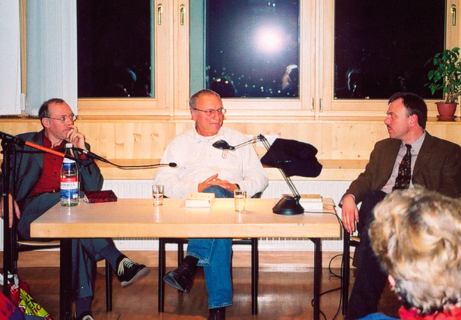 v.r.n.l: Stefan Neuhaus, Uwe Timm, Martin Hielscher