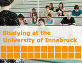 Studying at the University of Innsbruck