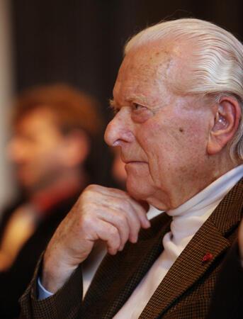 Ernst von Glasersfeld 2008. Foto: Christian Wucherer
