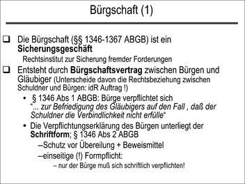brgschaft 1 - Burgschaftserklarung Muster