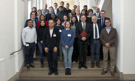 Gruppenfoto Winter School on Federalism and Governance