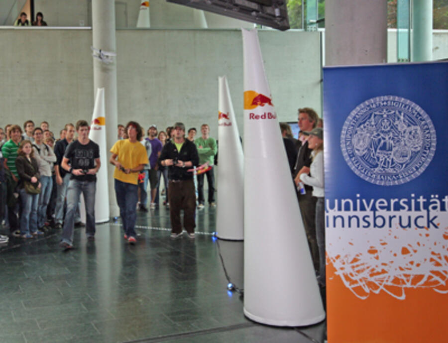 """Red Bull Air Race University Series"" an der Uni Innsbruck"