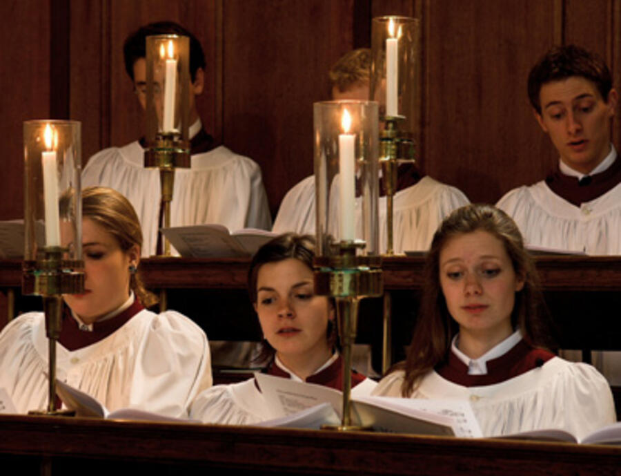 Der Choir of Clare College