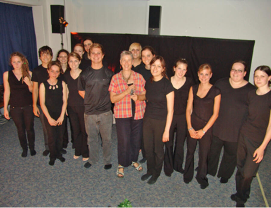 Der Theater Workshop rund um Linda Quehenberger-Dobbs