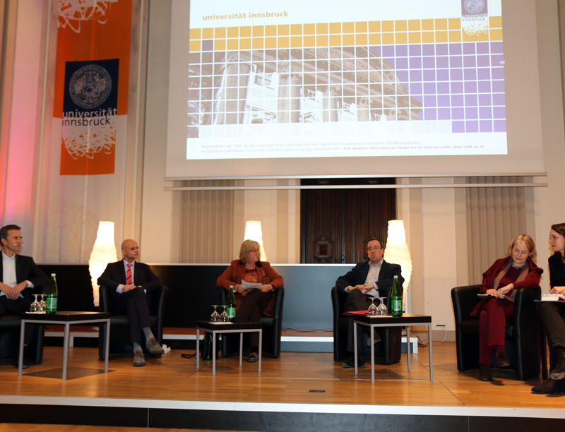 Podiumsdiskussion zu Open Access