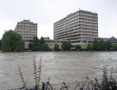 Hochwasser am 23. August 2005 (c) Köll