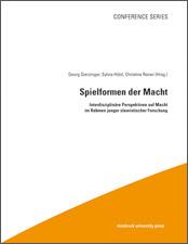 """Cover: Konferenzband """"Spielformen der Macht"""""""