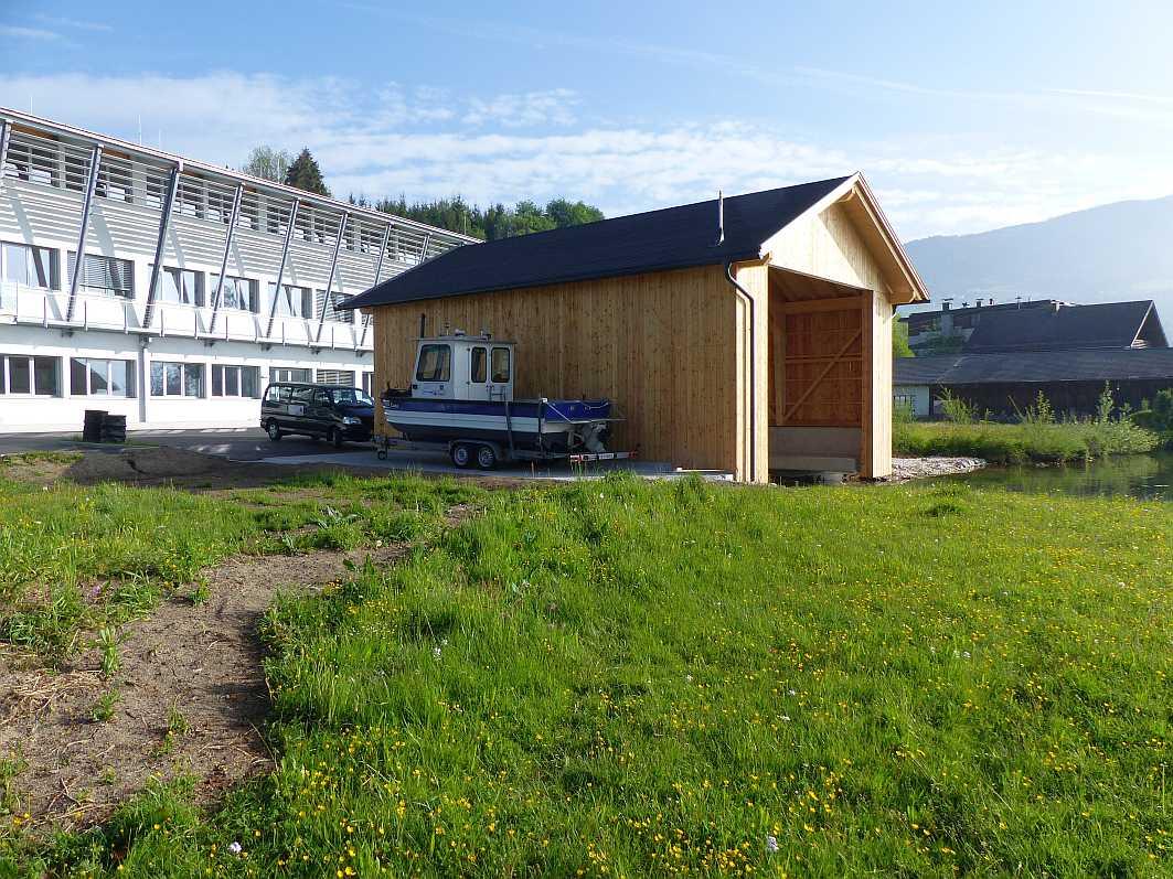 Neues Bootshaus ILIM