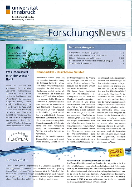 News 2017 – Universität Innsbruck
