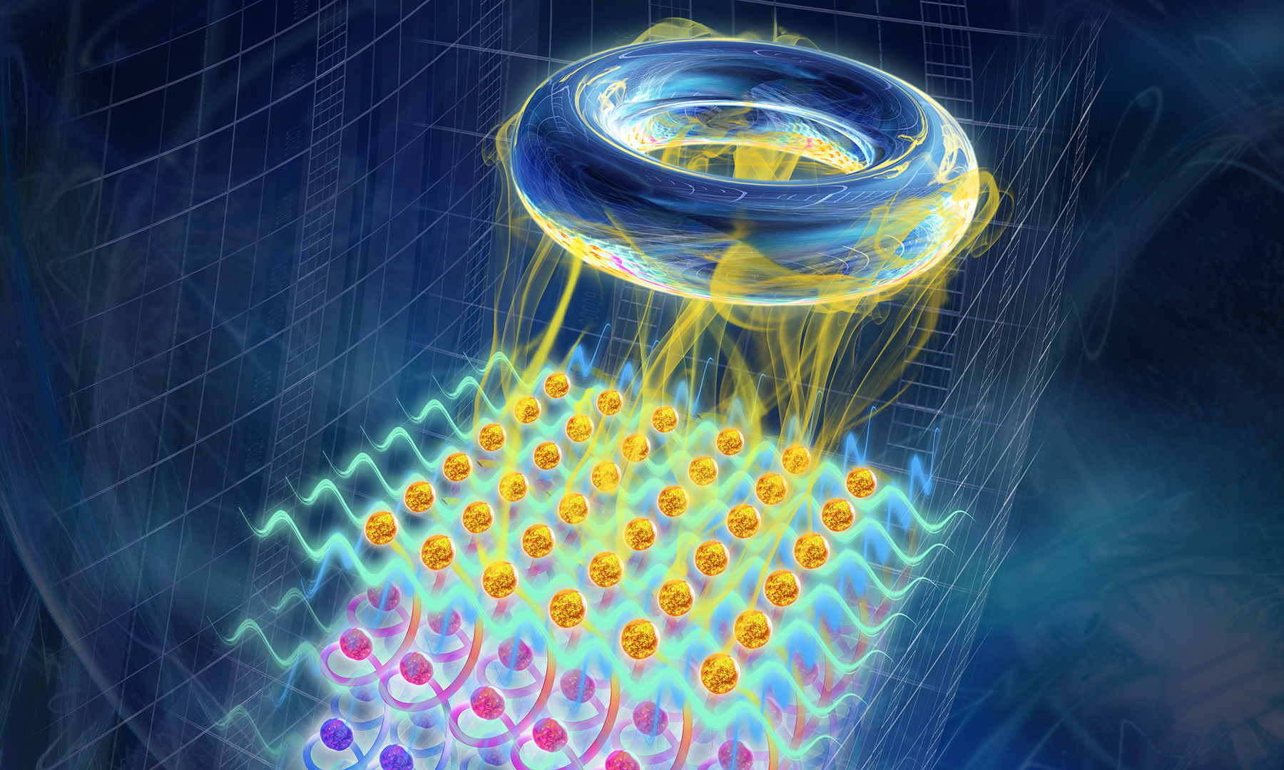 Ultracold gas of atoms
