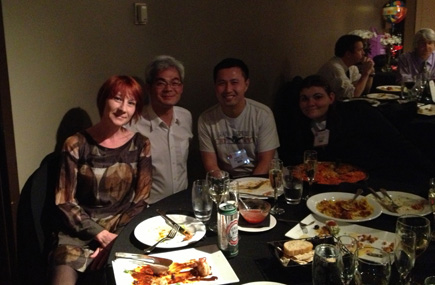 dinner at the 61st ASMS Conference on Mass Spectrometry and Allied Topics in Minneapolis, MN, USA, June 9 - 13, 2013