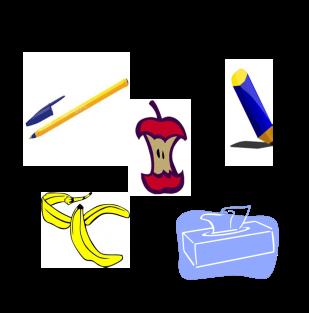 Piktogramm Restmüll