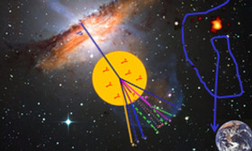 Symbolbild Hochenergieastrophysik