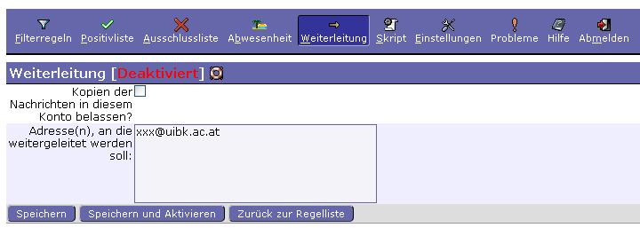 Web Mail Faq Universität Innsbruck