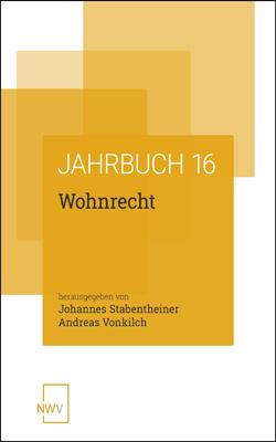 Jahrbuch Wohnrecht 2016